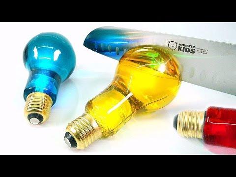 DIY Edible Glow Light Bulb Jelly & Coca-Cola Jello Gummy
