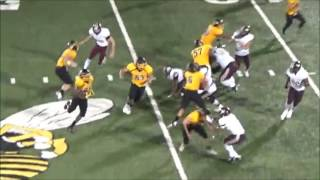 DENISON YELLOWJACKETS VS. FRISCO HERITAGE COYOTES HIGHLIGHTS 9/16/16