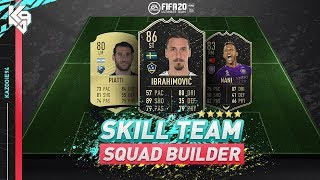 IF Ibrahimovic & IF Nani Skill Team Squad Builder | FIFA 20 Ultimate Team