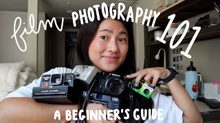 Film Photography 101 (for beginners!)   disposable cameras, point and shoot, instant, and manual