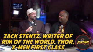 Zack Stentz, Writer of Rim of the World, Thor, X-Men First Class