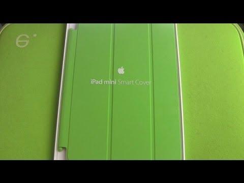Apple iPad Mini Smart Cover Grün Unboxing und erster Eindruck