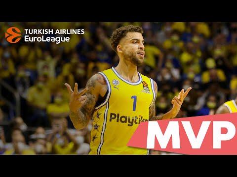 Round 1 MVP: Scottie Wilbekin, Maccabi Playtika Tel Aviv