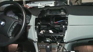 BMW E83 X3 Avin USA android display system DIY