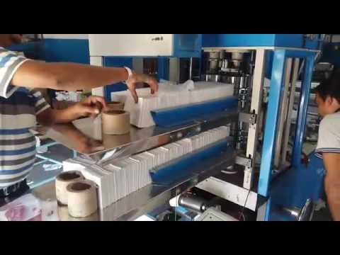 Bandsaw Paper Napkin Making Machine