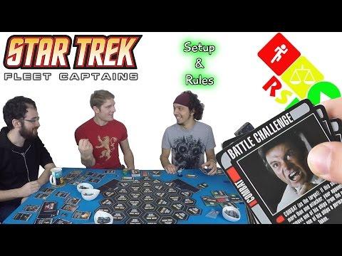 Fleet Captains Setup & Rules - Ready, Steady, Play