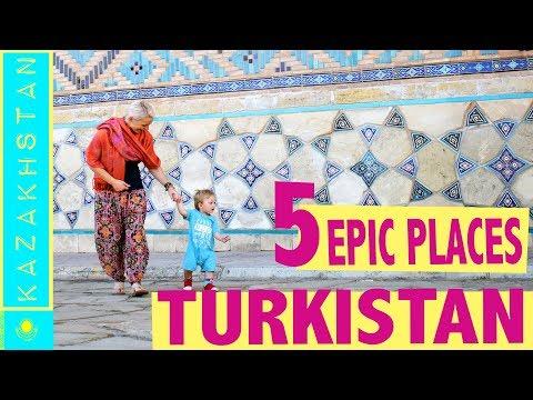 Turkestan Kazakhstan | WEIRD but AMAZING STAR WARS ruins (Famous mausoleum, great food and more...)