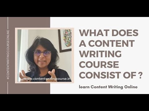 Online Content Writing Course - for Beginners & Bloggers - YouTube
