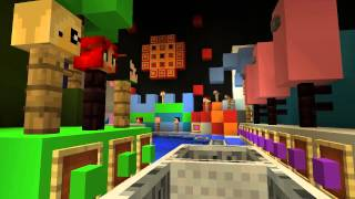 It's A Small World MINECRAFT Disney World