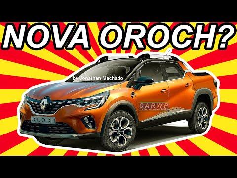RENDER Nova Renault Oroch 2021 @ Captur Pickup - Rival da Fiat Toro