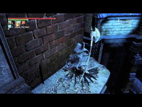 Bloodborne Armor Charred Hunter Garb Set - location guide l Old Yharnam