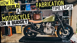 How To Build A Budget Motorcycle | Time Lapse ★ FABRICATION