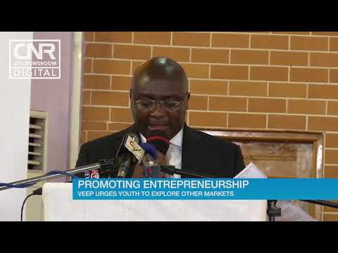 Bawumia urges local entrepreneurs to target foreign markets