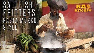 Frying Saltfish Fritters (Rasta Mokko Style) part 2