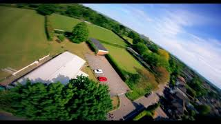 Smooth drone flying in Enfield