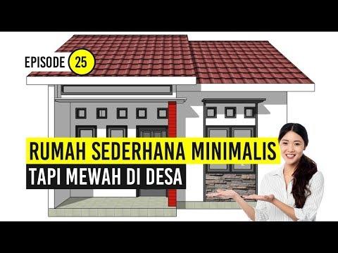 Rumah Minimalis Sederhana Tapi Mewah Di Desa Rumah Tropikal