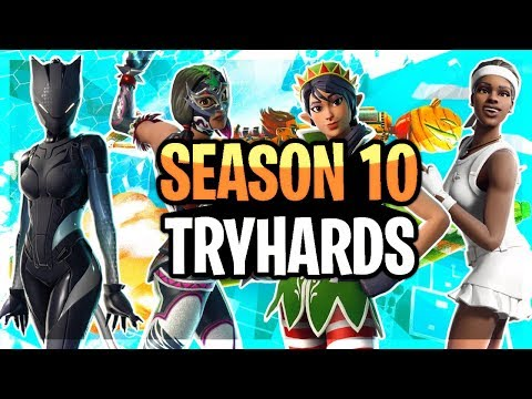 Best fortnite TRYHARD skin combinations! - игровое видео смотреть