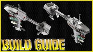 INSTRUCTIONS: Lego EF-76 Nebulon-B Frigate   STAR WARS Micro