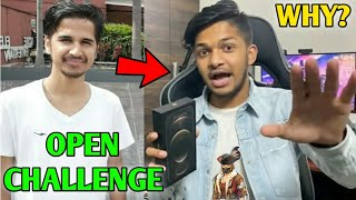 Lokesh Gamer got OPEN CHALLENGE! - By Whom & Why? | Total Gaming 16 Million! | Desi Gamer,TSG reacts