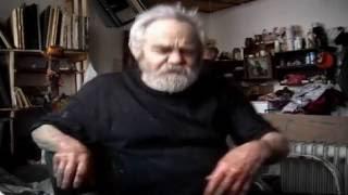 Эксклюзив! Уникальный видеосюжет о замечательном художнике Ароне Бухе, снятый в мастерской живописца