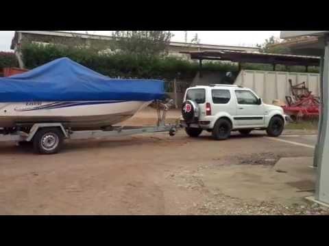 Suzuki jimny traino carrello barca