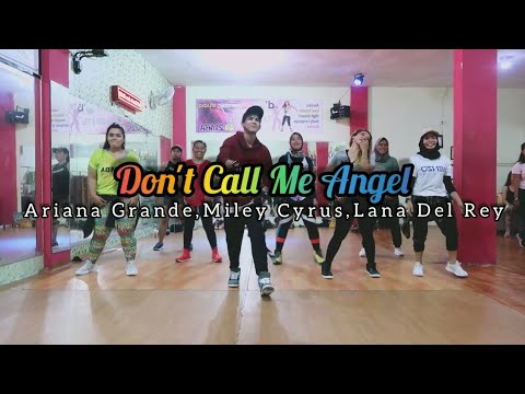 Ariana Grande, Miley Cyrus, Lana Del Rey - Don't Call Me Angel | ZUMBA | FITNESS | At D'One Studio