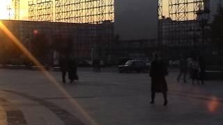 """На месте снесенной гостиницы """"Москва"""""""