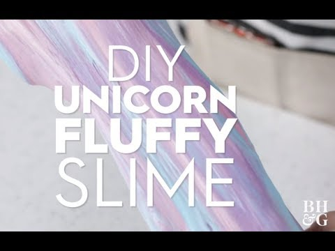 Fluffy Unicorn Slime | Made By Me - Crafts | Better Homes & Gardens