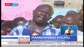Wenyeji wa Kisumu wataka jengo la biashara lifunguliwe