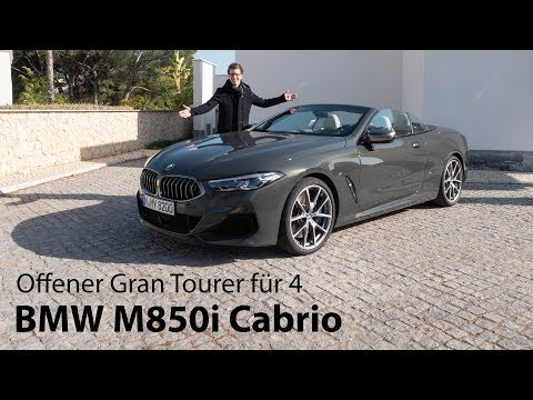 2019 BMW M850i xDrive Cabrio (G14) Fahrbericht / Freiluft Gran Tourer für vier - Autophorie