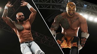 WWE 2K19 - Top 20 Ricochet Moves In The Game (Insane Moves)