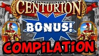 Centurion Slot Bonus Compilation - JACKPOTS And BONUSES