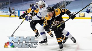 NHL Stanley Cup Round Robin: Lightning vs. Bruins | EXTENDED HIGHLIGHTS | NBC Sports