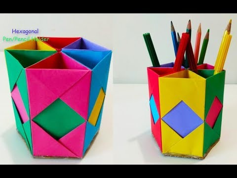 DIY: Origami Container - YouTube | 360x480
