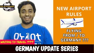 🛩️Want to fly From or To Germany? ✈️| 20 Rules for Airports & Passengers | GERMANY UPDATE SERIES