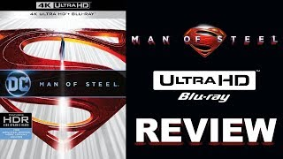 A DC Classic! Man Of Steel 4K Blu-ray Review