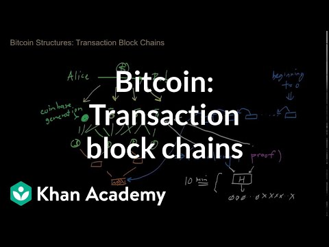bitcoin recent transactions