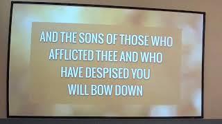 Shabbat Sermon - November 17 2018