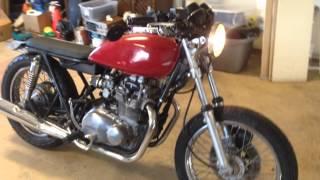 1977 Kawasaki KZ400 Startup