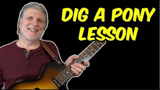 Dig A Pony (The Beatles) Guitar Lesson