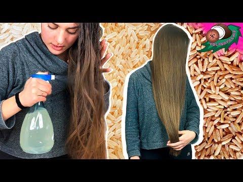 РИСОВАЯ ВОДА для восстановления волос 💧 Как сделать ФЕРМЕНТИРОВАННУЮ РИСОВУЮ ВОДУ 🌴 POLI NA PALME