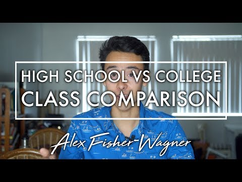 College Classes vs High School: What's the Difference?