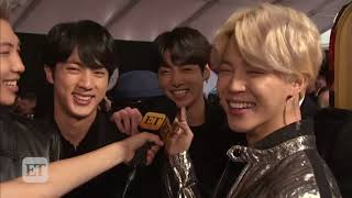 ET: BTS Say They Don't Need Girlfriends When They Have Fan Army