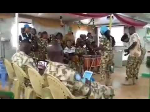 Nigeria army sabon rai band in foreign mission