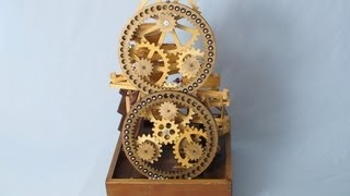 Marble Machine - Ring Gear Lift - Figure 8 Transfer - Vortex Funnel
