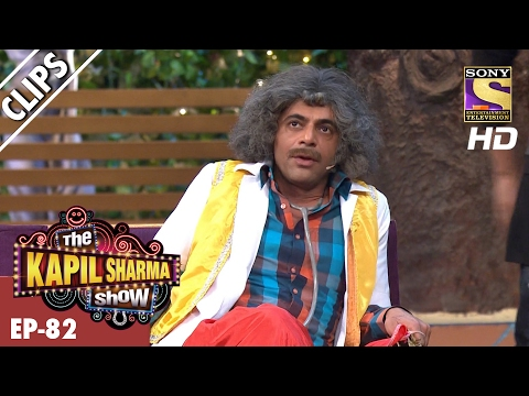 Dr. Gulati's Bhangra dance and cricket fun with Gurdas Maan – The Kapil Sharma Show - 12th Feb 2017
