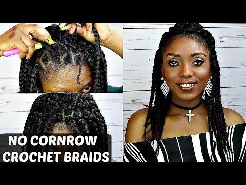 Crochet Braids No Loop : Crochet Short Natural Hair + 4 Styles MotownTress 3x Angels Braid ...