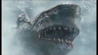 海底11000米深处现远古生物巨齿鲨,一口能吃掉鲸鱼,太可怕