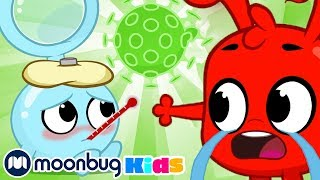 Morphle is Sick -The Magic Pet Flu | Morphle and friends | Cartoons for Kids | Mila and Morphle TV