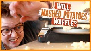 Will Mashed Potatoes Waffle?